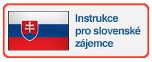 Instrukce pro slovenské zájemce